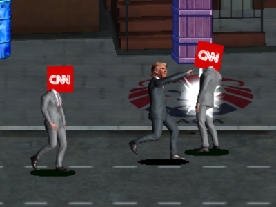 Trump vs Fake News